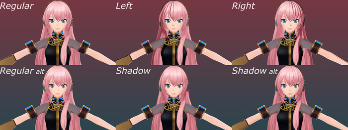 Megurine Luka / Project Diva F2nd Effect Test by Malik-Hatsune