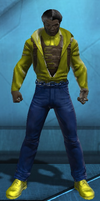Power Man Luke Cage (DC Universe Online) by Macgyver75