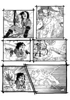 WhytManga round 4 FIGHT page 1 by taresh