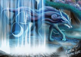 Suicune by Irete
