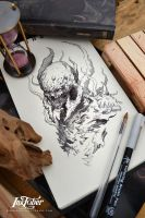 Inktober day 5 :) by Dibujante-nocturno