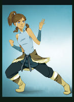 Avatar Korra by xXischaXx