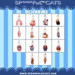 Spoonful of Cats CHARMS by Spoonful0fcats