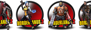 borderlands 2 icons by SidySeven