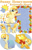 Sunny Honeymoon Reference Sheet by equinepalette