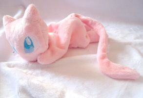 Mew Beanie Baby by FollyLolly