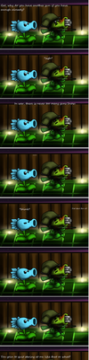 PvZ: There are never too many guns by SanSanChii