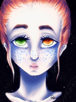 Freckles by Vallentiny