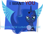 Auntie Luna want you by astobat