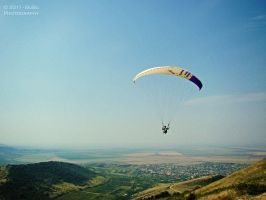 .:Flying over the hills:. by bogdanici