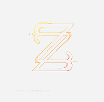 Z Letterform by Fortelegy