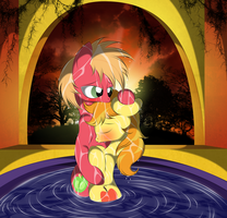 Braeburn loves Big Mac by V-D-K