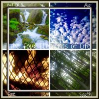 The Four Elements by Rainbow826