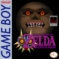 Majora's Mask [Game Boy] Box Cover by BLUEamnesiac
