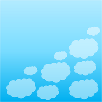 Sky Cloud Background by Masterluis500