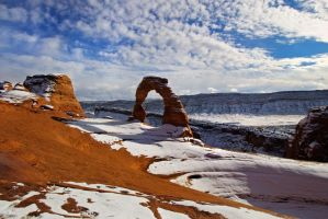 Delicate Arch by SkylerBrown