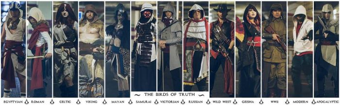 Assassins Creed - The Birds of Truth by SquallWolfheart