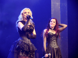 Liv Kristine and Ailyn at MFVF by crystalfalls