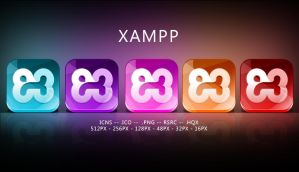 Xampp icons by sharkurban