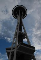 Seattle: Space Needle II by Photos-By-Michelle