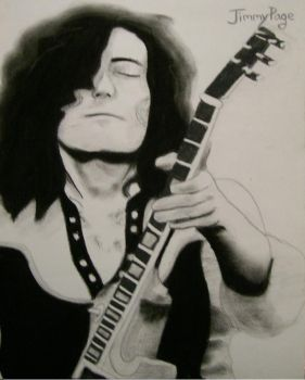 Jimmy Page by dynamicXpie