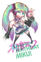Happy Birthday Miku! by Triple-Q