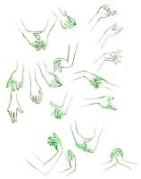 Hands practice by sarsel
