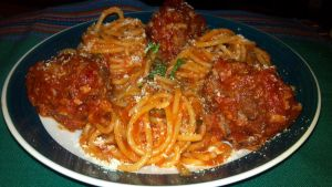 Spaghetti and Meatballs as made by a Mexican by FutureChefHaku