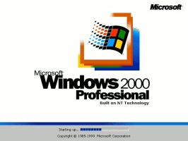 Windows History - Windows 2000 by cooling999