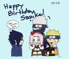Happy Birthday, Sasuke by witchofoz93