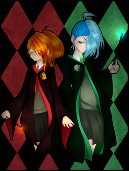 A crossover on Harry Potter D.Galaxy and  W. Ford by DemonGalaxy