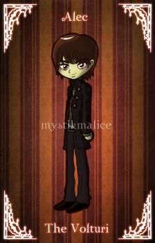 Twilight - The Volturi - Alec by mystikmalice