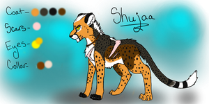 Shujaa Ref by Wolfchick36