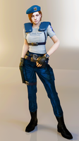 Jill Valentine S.T.A.R.S. Render by Ada-Momiji-Forever