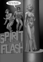 TLIID Flash 75 years - with The Spirit B+W by Nick-Perks