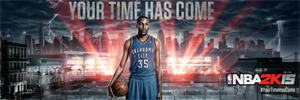 Kevin Durant NBA 2K15 Cover Star Forum Signature by ThexRealxBanks