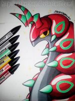 Shiny Scolipede by RachyChan