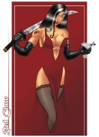 GJ Red Claw by ginsujustice