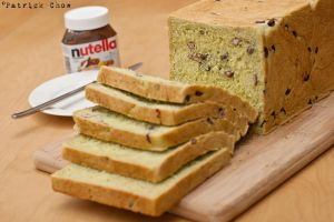 Matcha redbean bread 1 by patchow
