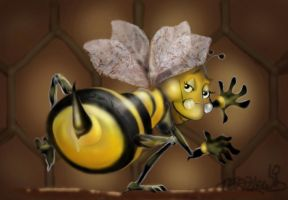 such a busy bee by spoofdecator