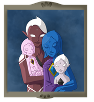 GhiraFi Family for Lene by Icy-Snowflakes
