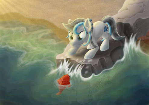By The Sea by Inurantchan