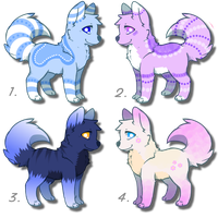 Adorable canine adoptables! CLOSED! by DailyAdoptables