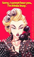 .: Lady Gaga - Telephone :. by Mako-Fufu