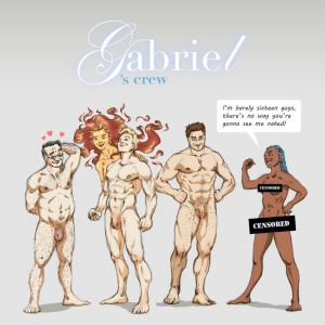 Gabriel's Crew - naked version by Remietc