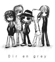 Dir en grey ..styletype:RnA.. by brokenlink