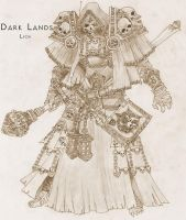 Dark Lands-Lich by WhiteFenrril