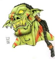 Green Orc by Morbidmic