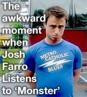 Josh farro monsters by paramoremad