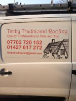 Finished logo design for local roofing business. by Beckstar23